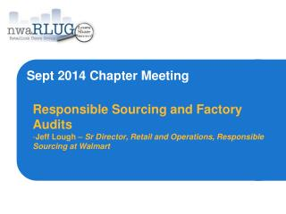 Sept 2014 Chapter Meeting
