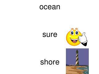 ocean sure shore