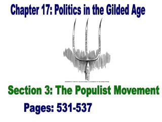 Chapter 17: Politics in the Gilded Age