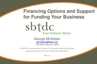 Financing Options and Support for Funding Your Business