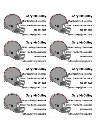 GFA Coaching Committee