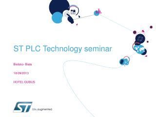ST PLC Technology seminar