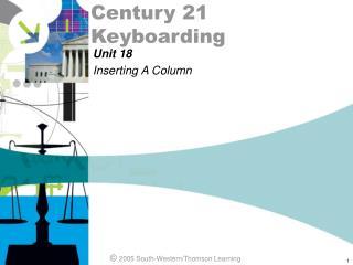 Century 21 Keyboarding