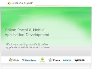 Online Portal & Mobile Application Development