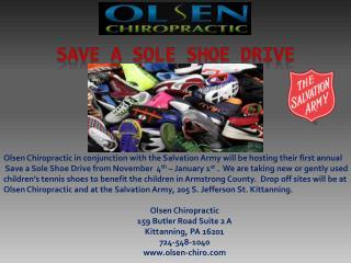 Save a Sole Shoe Drive