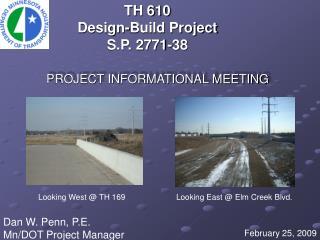 TH 610 Design-Build Project S.P. 2771-38