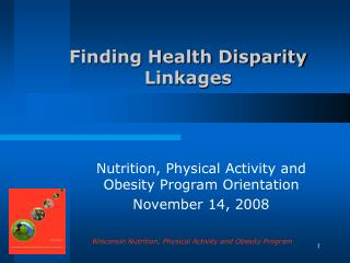Finding Health Disparity Linkages
