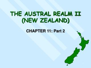 THE AUSTRAL REALM II (NEW ZEALAND)