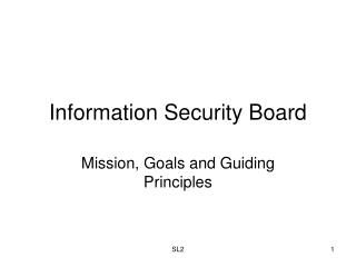 Information Security Board