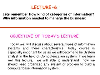 LECTURE-6