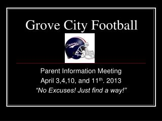 Grove City Football