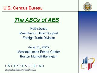 The ABCs of AES
