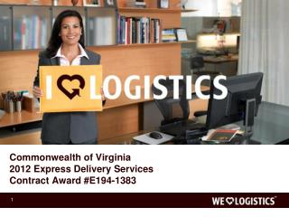 Commonwealth of Virginia 2012 Express Delivery Services Contract Award #E194-1383