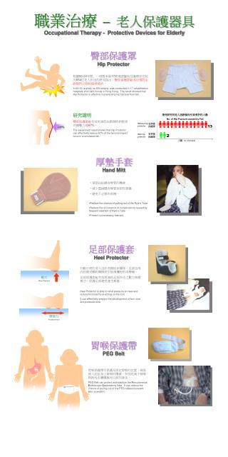 職業治療 – 老人保護器具 Occupational Therapy - Protective Devices for Elderly