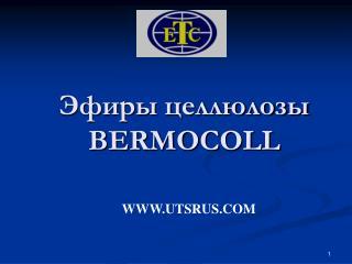 Эфиры целлюлозы BERMOCOLL