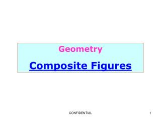 Geometry Composite Figures
