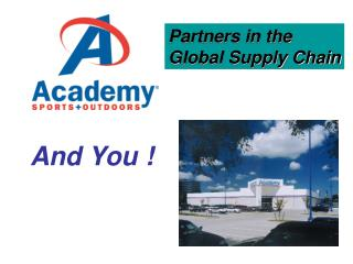 Partners in the Global Supply Chain