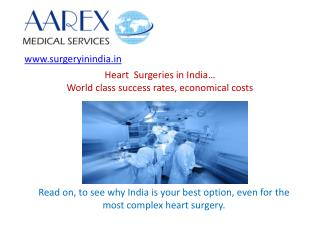 Heart surgery in India - Advantages