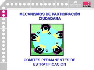 COMITÉS PERMANENTES DE ESTRATIFICACIÓN