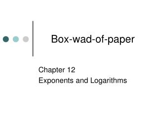 Box-wad-of-paper