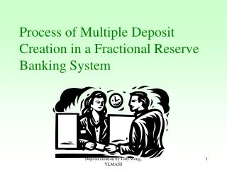 Process of Multiple Deposit Creation in a Fractional Reserve Banking System