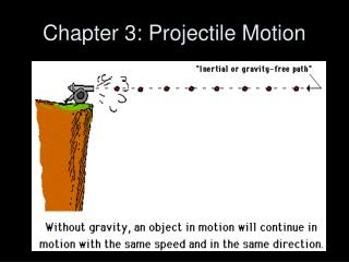 Chapter 3: Projectile Motion