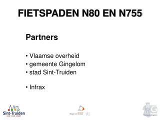 FIETSPADEN N80 EN N755
