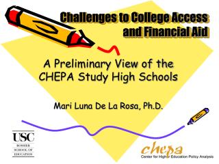 Challenges to College Access and Financial Aid