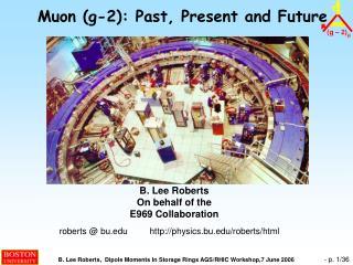 Muon (g-2): Past, Present and Future