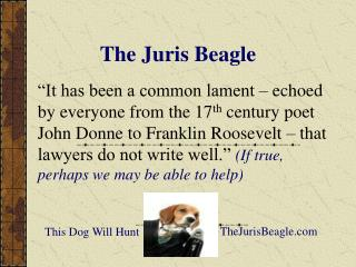 The Juris Beagle