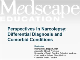 Perspectives in Narcolepsy: Differential Diagnosis and Comorbid Conditions