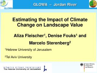 Estimating the Impact of Climate Change on Landscape Value