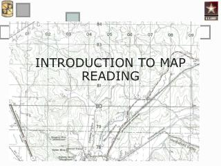 INTRODUCTION TO MAP READING