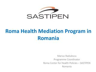 Roma Health Mediation Program in Romania