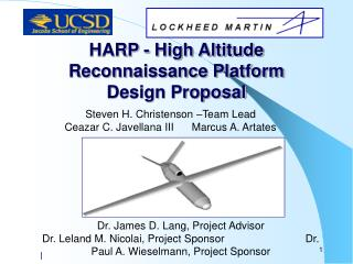 HARP - High Altitude Reconnaissance Platform Design Proposal