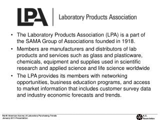 North American Survey of Laboratory Purchasing Trends January 2011