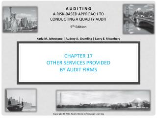 Chapter 17 Other Services Provided by Audit Firms