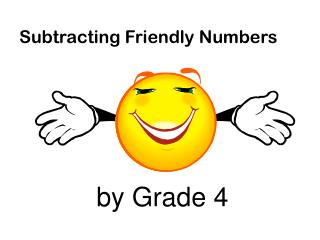 Subtracting  Friendly Numbers