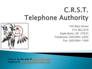 C.R.S.T. Telephone Authority