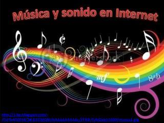 Música y sonido en Internet