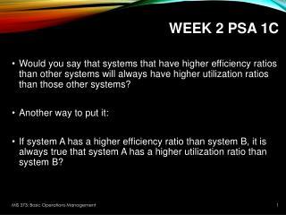 Week 2 PSA 1C