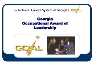 Georgia  Occupational Award of  Leadership