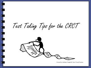 Test Taking Tips for the CRCT