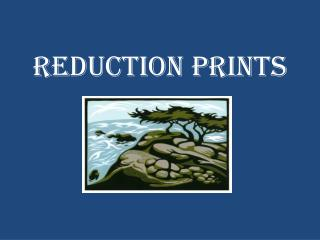 Reduction Prints