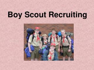 Boy Scout Recruiting