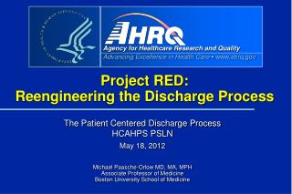 Project RED: Reengineering the Discharge Process