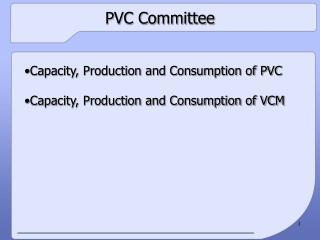 PVC Committee