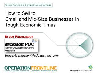 How to Sell to Small and Mid-Size Businesses in Tough Economic Times