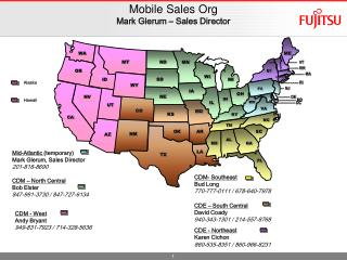 Mobile Sales Org