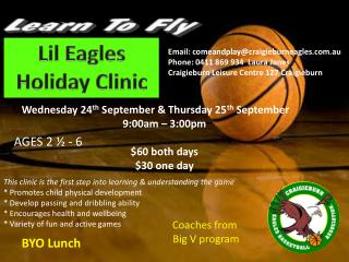 Lil Eagles Holiday Clinic